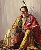 Taos Elder, Henry Cornelius Balink, Click for value