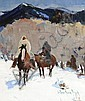 Three Horseman, Laverne Nelson Black, Click for value