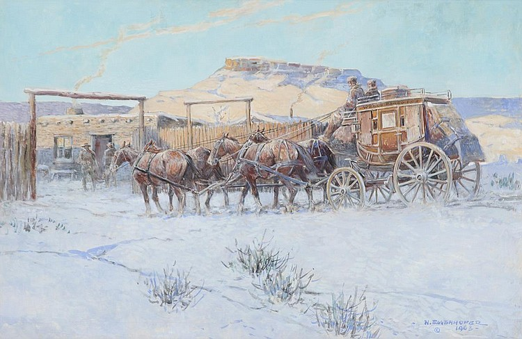 Stage to Laramie (1963)