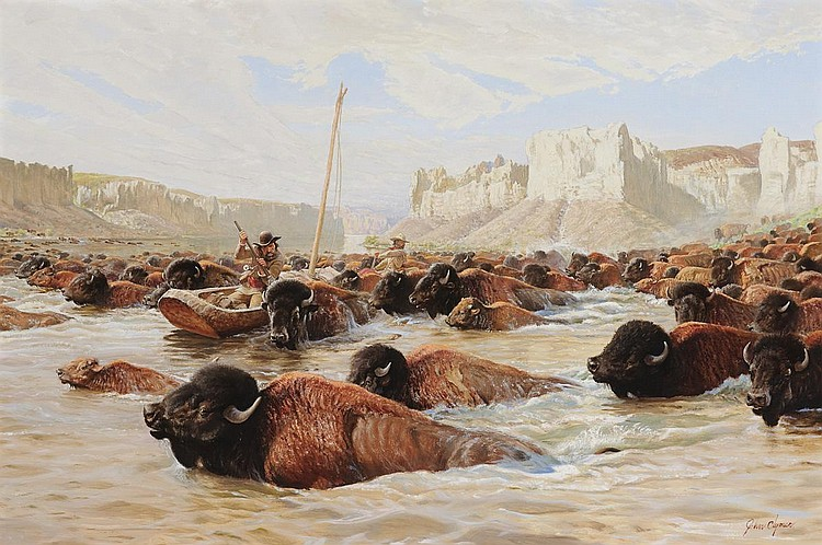 Buffalo Crossing (c.1967)