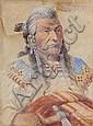 Chief Louison - Flathead, Edgar Samuel Paxson, Click for value
