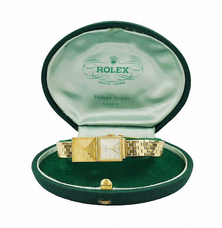 A Rolex Precision lady's wrist watch