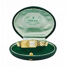 A Rolex Precision lady's wrist watch