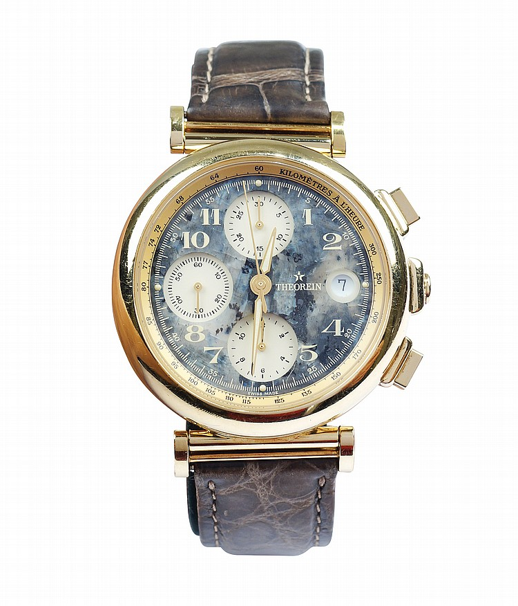 A Theorein chronograph wristwatch