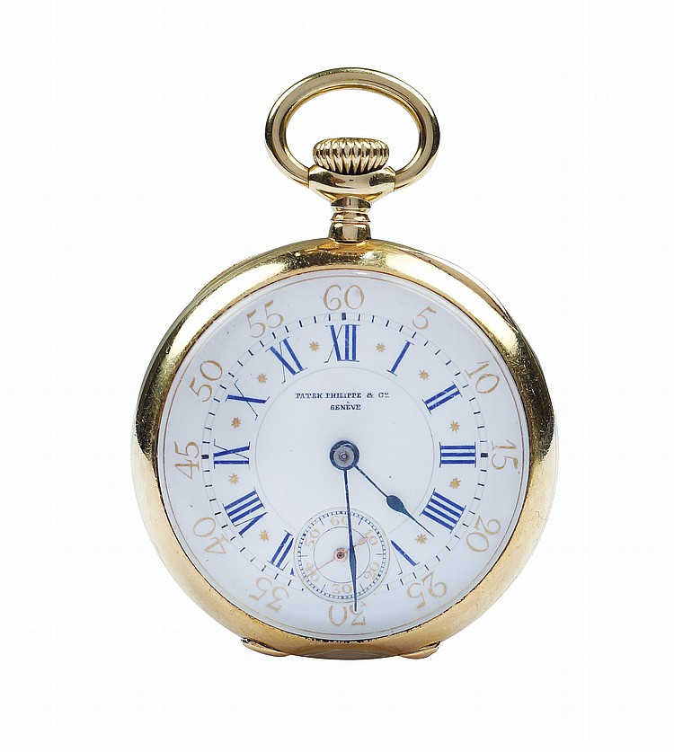A Patek Philippe & Co pocket watch
