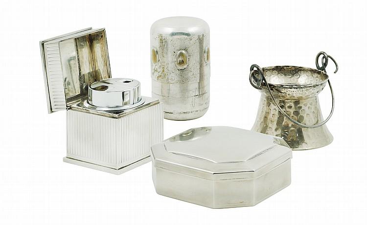 An Italian silver lot (4)
