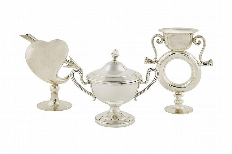 An Italian silver lot (3)