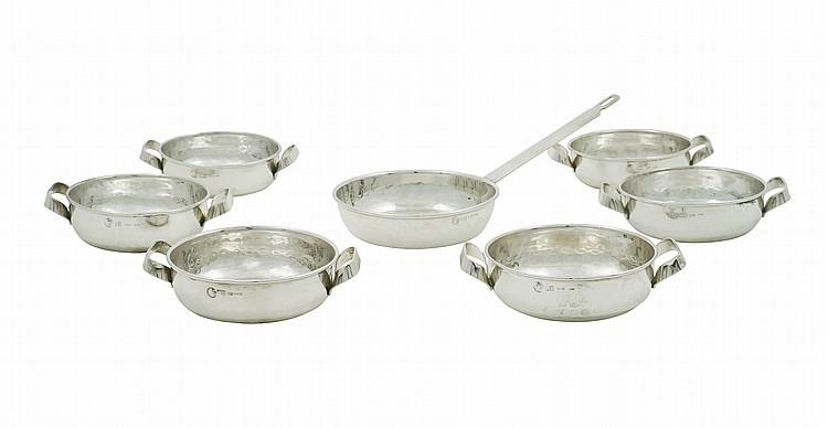 A Brandimarte silver lot (7)