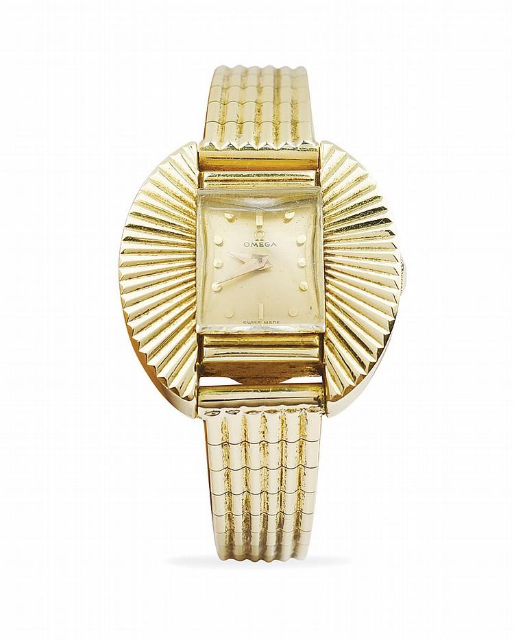 An Omega lady's wrist watch