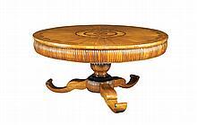 Important Italian walnut table