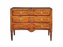 An Italian Louis XVI walnut dresser
