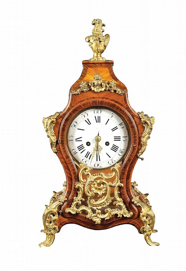 A Louis XV pendulum clock