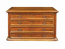 An Italian walnut dresser