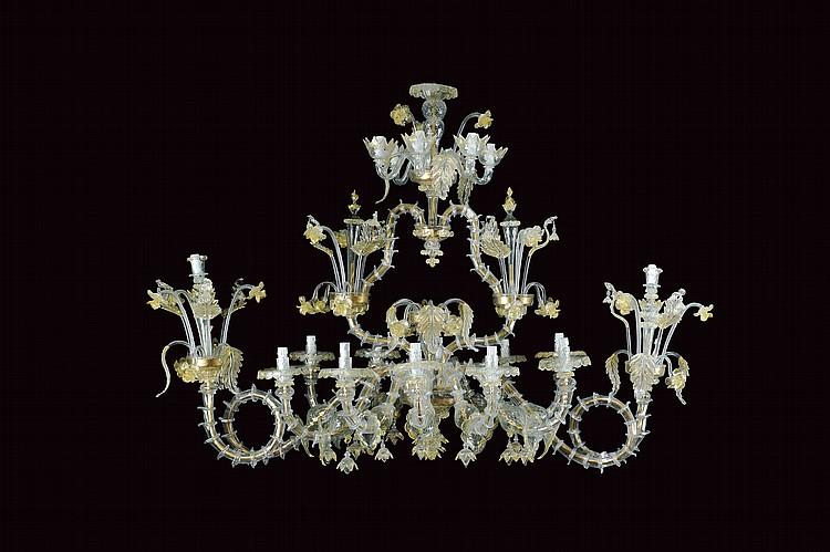 A Cà Rezzonico chandelier