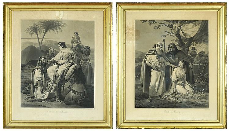 A pair of prints