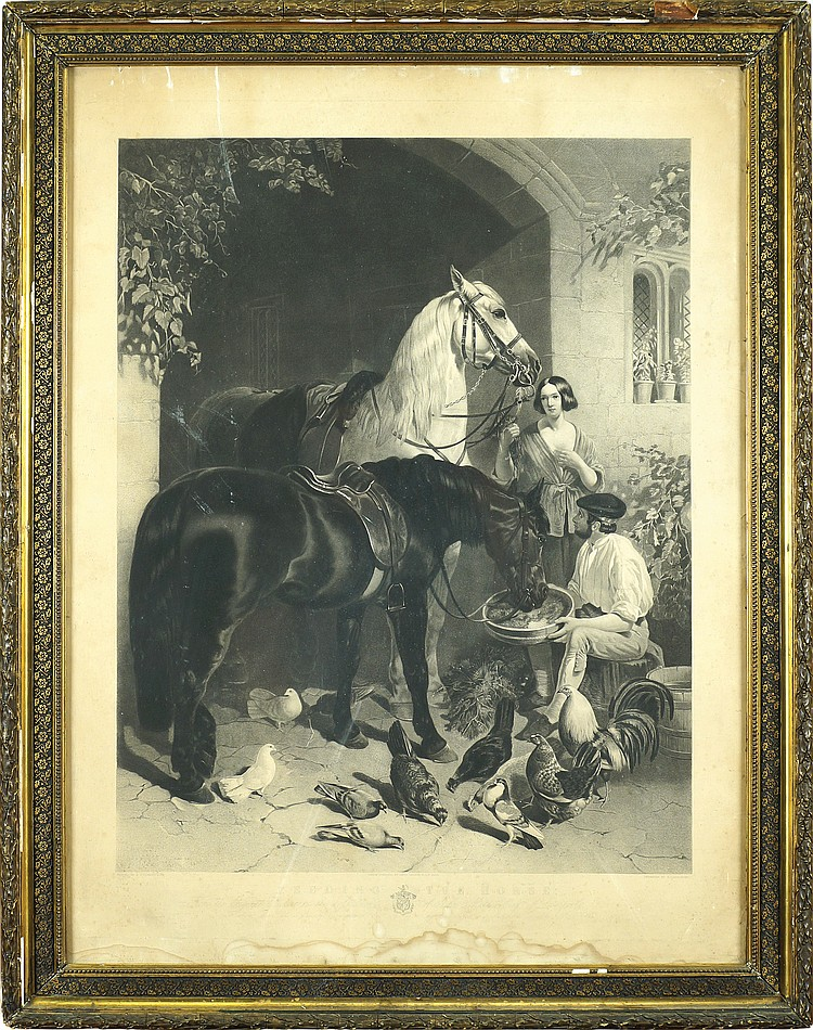 Print, after John Frederick Herring
