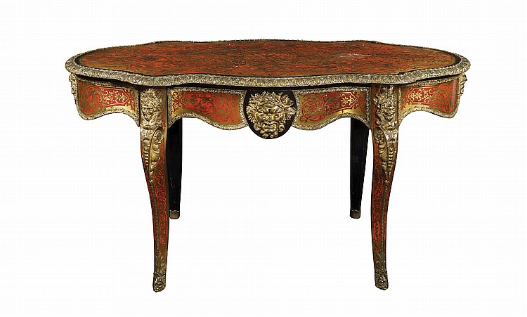 Ebano wood writing desk