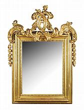 An important giltwood mirror