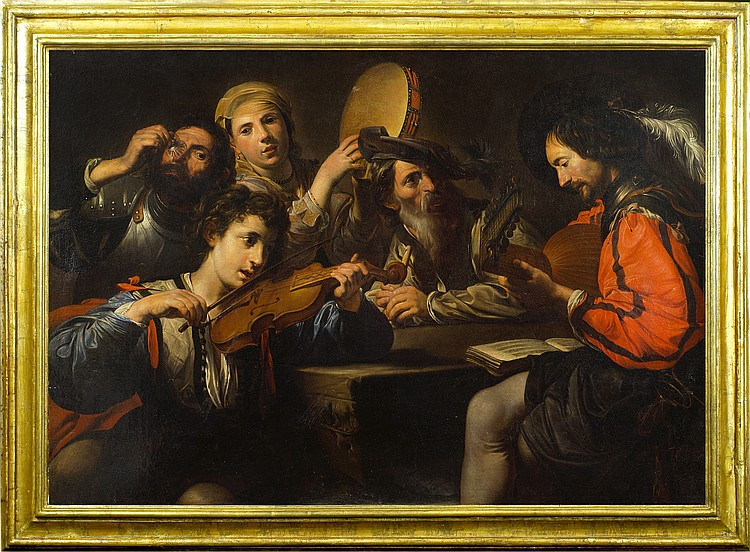 Valentin de Boulogne, coeval copy from