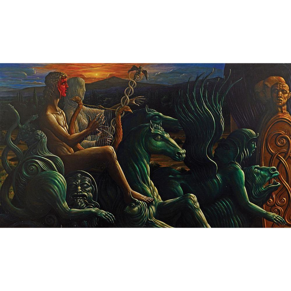 Alberto Abate Roma 1946 - 2012 130x230 cm