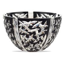 Faberge' crystal bowl Switzerland, 20th century d. 26,5 cm.