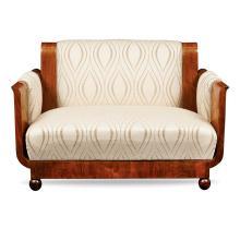 A Decò sofa France, early 20th century 76x110x69 cm.