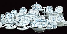 A Meisen porcelain plate service (240)
