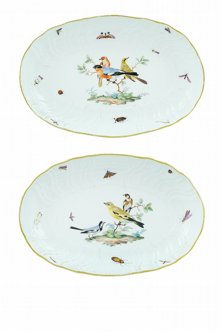 A pair of dishes