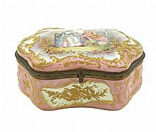 A Sèvres porcelain box