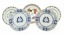 A set of porcelain plates (2)