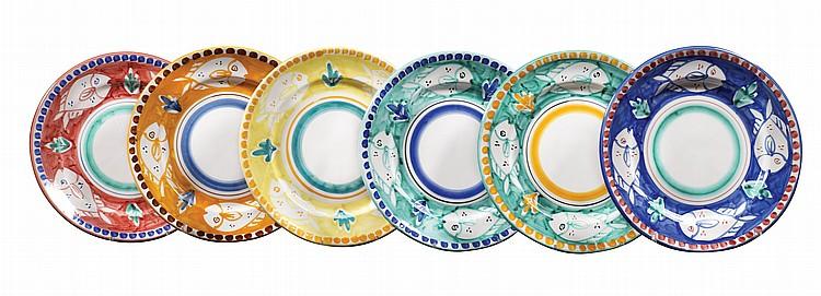 A ceramic plate service (19)