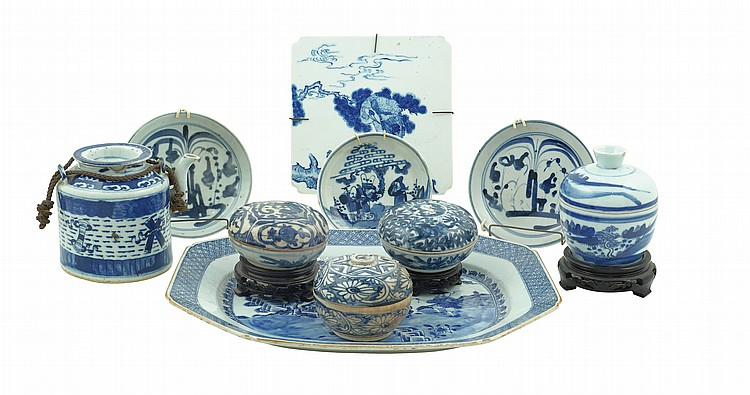 A Chinese porcelain lot (10)