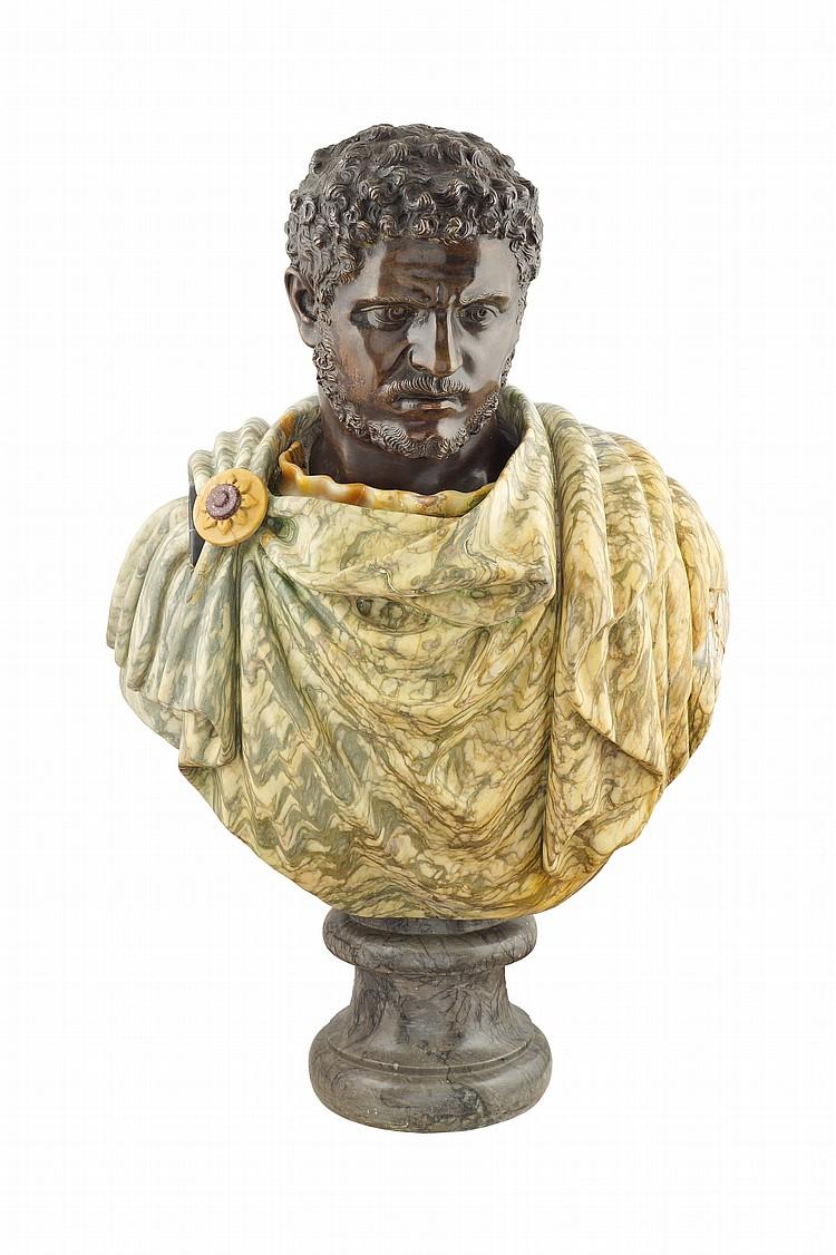 A Caracalla bust