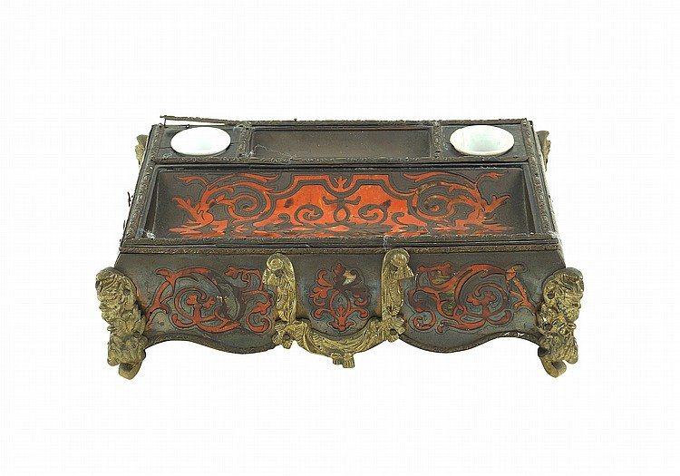 A boulle inkstand