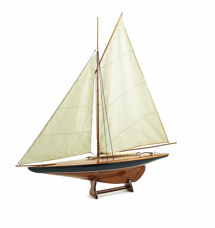 A sail boat model