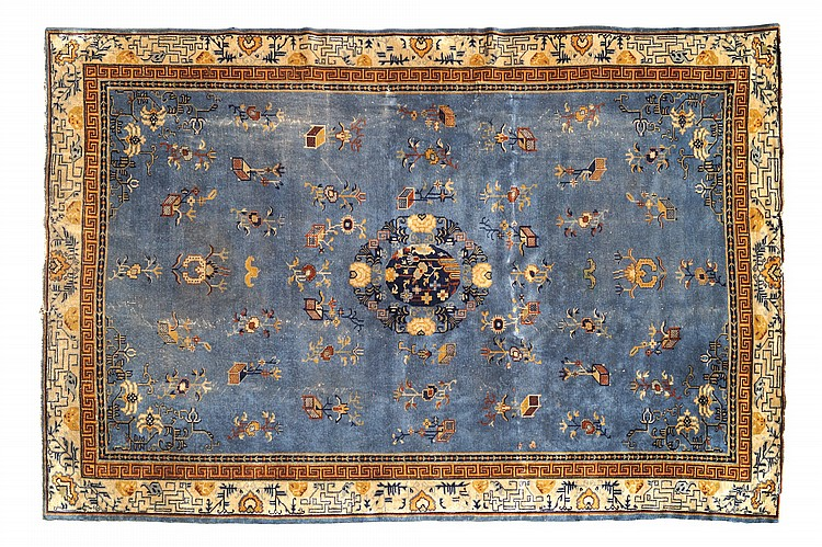 An Oriental carpet