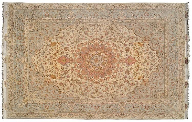 A rare Tabriz carpet