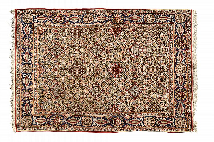 An Oriental carpet