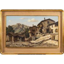 Pietro Leidi Brescia, 1892 -1976 50x83 cm.