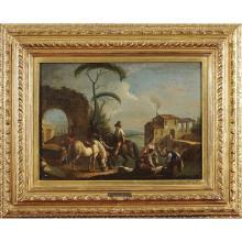 GIUSEPPE ZAIS FORNO DI CANALE 1709 - TREVISO 1781 37,5X51 CM