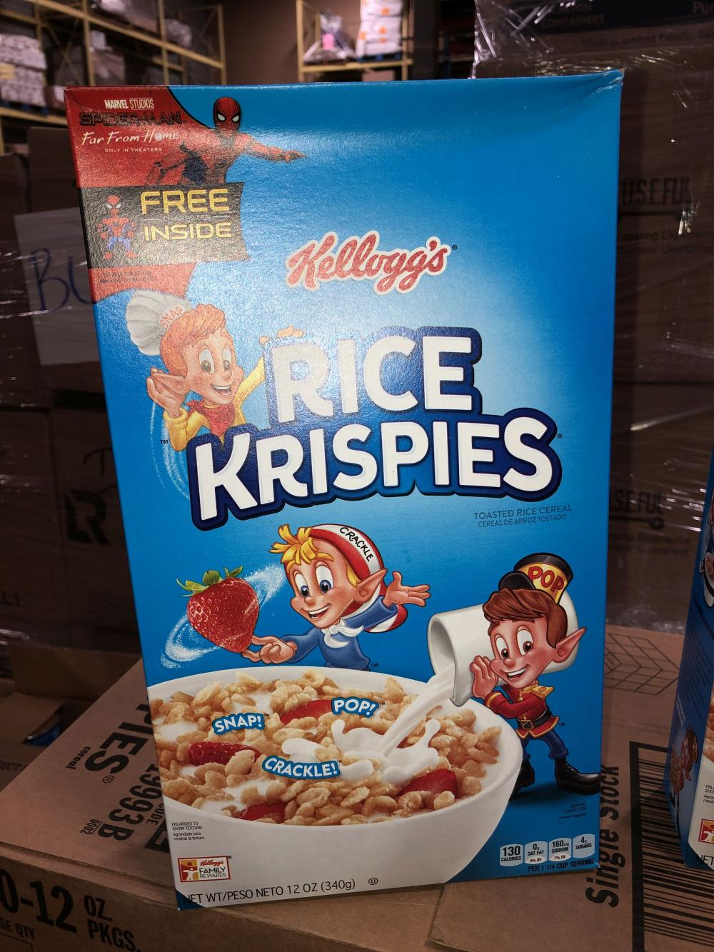 Kellogg's rice krispies (200 boxes)