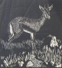 William (Bill) Kermode (1895-1959) Britain - Gazelle and 5 other prints