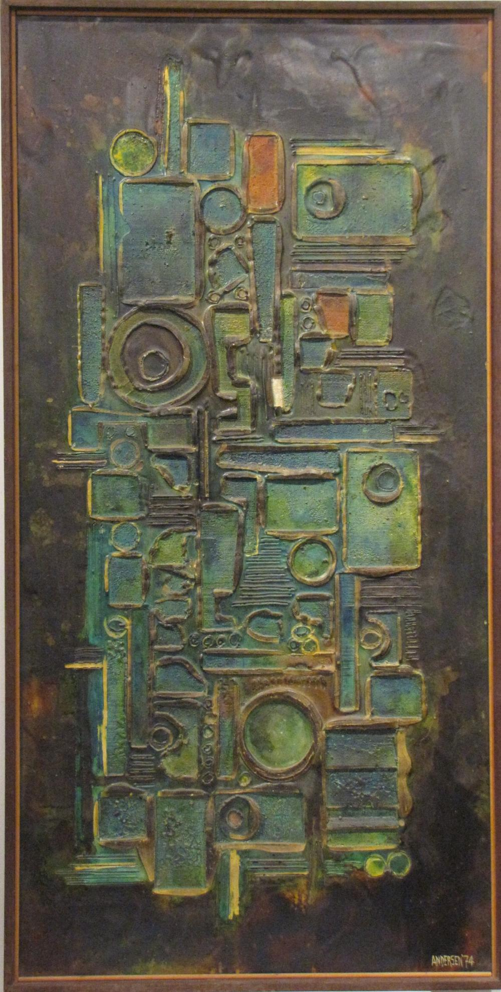 Tom Anderson Artwork For Sale At Online Auction Tom Anderson Biography Info