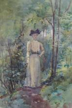 Julian Rossi Ashton (1851 - 1942) - (Edwardian Lady) *
