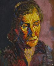 Portrait Woman - Tony Woods (1940-2017) Australia