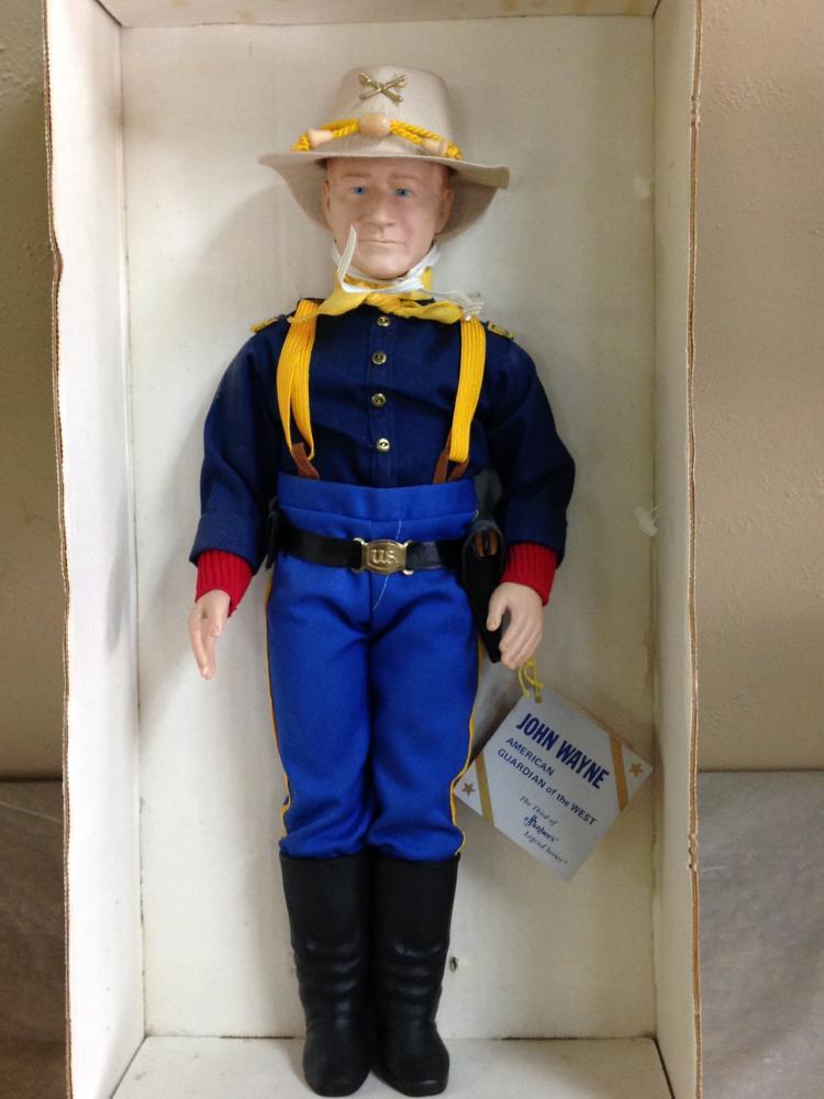 John Wayne Doll The Cowboy by Effanbee