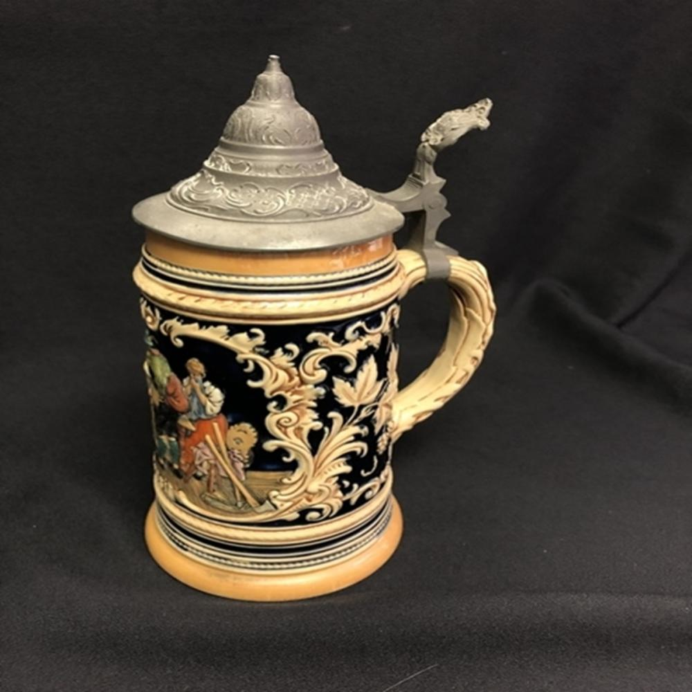 "German 1 Liter Beer Stein ""PROSIT"""