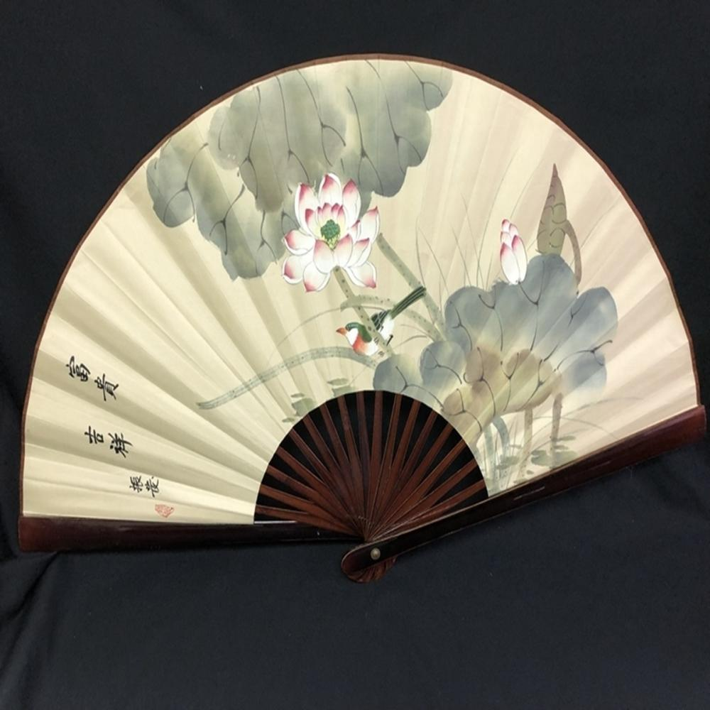 Large Oriental Accordian Style Shade or Fan