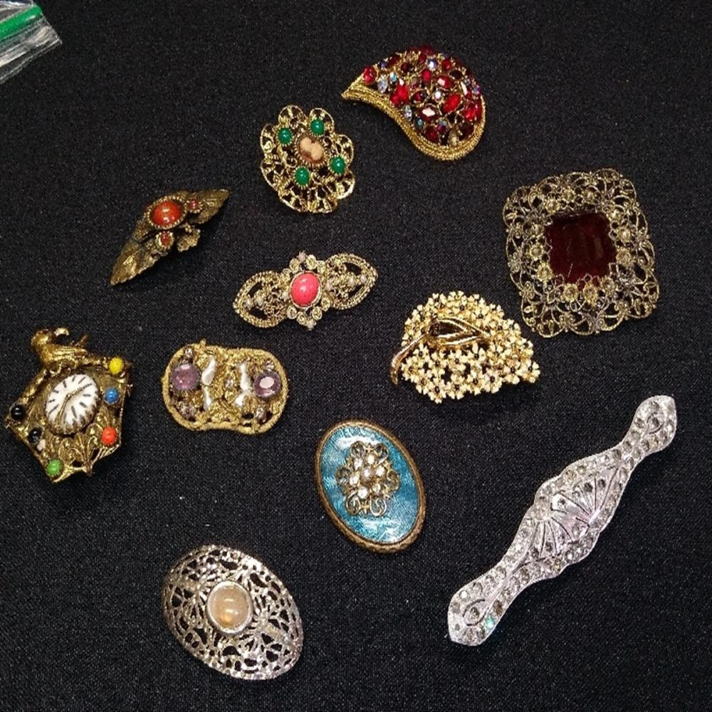 Brooches and more Brooches!