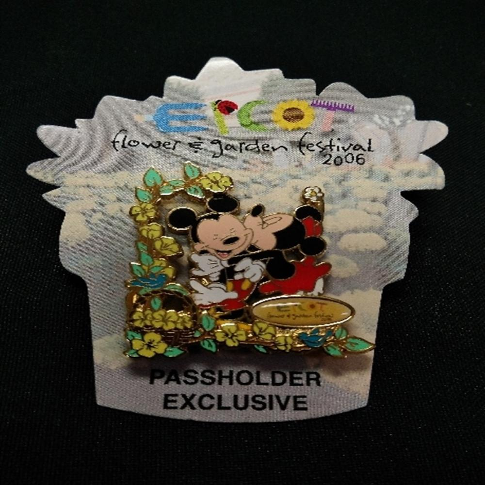 WDW 2006 PE Epcot Flower and Garden Festival Pin
